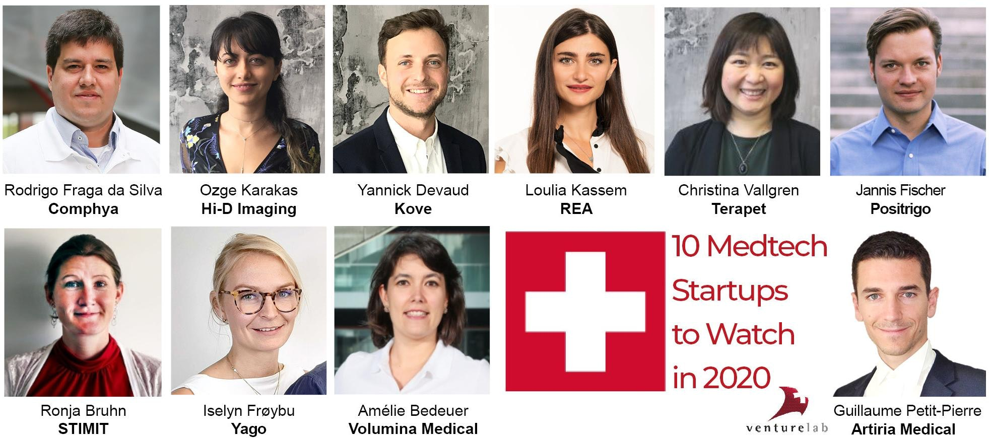 Today Terapet SA is featured as one of the Top10 Swiss MedTech rising stars by Venturelab